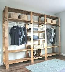 clothes storage closet hanging