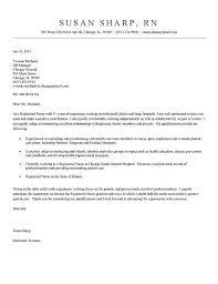 Sample Cover Letter For Nursing Resume Best of Nurse Cover Letter Example Cover Letter Example Nursing Resume