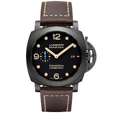 officine panerai watches at berry s jewellers luminor marina 1950 3 days automatic carbotech men s watch