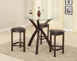 handmade solid wood pub table made to order from oak and chairs