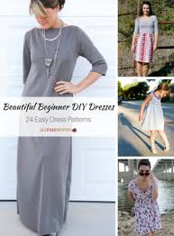 Simple Dress Pattern For Beginners Fascinating Beautiful Beginner DIY Dresses 48 Easy Dress Patterns