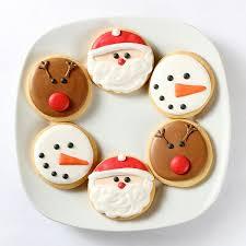 round christmas sugar cookies. Simple Cookies Round Christmas Sugar Cookies Cookie Decorating Ideas For