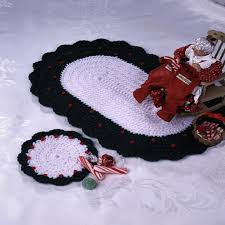 Free Crochet Placemat Patterns Best Country Christmas Red Heart