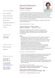 Project Engineering CV Cover Letter 28-10-2015