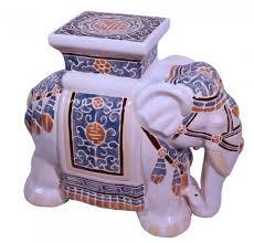 ceramic elephant elephant painting