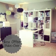 office make over. IKEA Office Make-Over #ikea #expedit #office Make Over