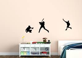 wall decals baseball baseball decal baseball sticker baseball wall decor  vinyl wall zoom wall decals . wall decals baseball ...