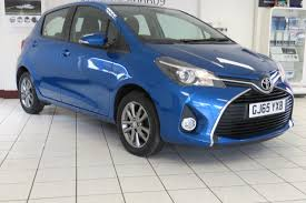 Used Toyota Yaris Icon Blue Cars for Sale | Motors.co.uk