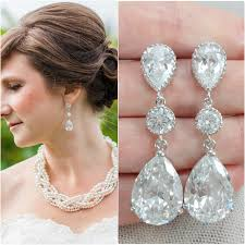 emejing chandelier earrings for wedding contemporary styles