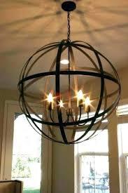 metal sphere chandelier progress lighting equinox medium size of large metal sphere chandelier in 6 light