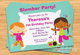 13 Creative Slumber Party Invitation Templates Psd Ai
