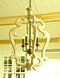 chandeliers distressed
