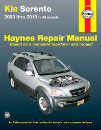 kia sorento wiring diagram pdf kia image wiring kia sorento all models 03 13 haynes repair manual haynes manuals on kia sorento wiring diagram