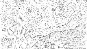 Small Picture Famous Artwork Coloring Pages Stunning Coloring Pages For Kids
