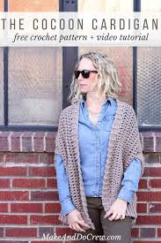 Easy Crochet Cardigan Pattern Free
