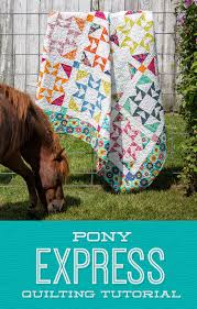 Pony Express Quilt &  Adamdwight.com