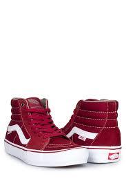 vans red and white. vans-sk8-hi-pro-red-dahlia-white-04 vans red and white