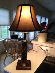 dobbes wine bottle lamp with base by don how to make a bottle lamp