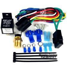 jeep commando radiators parts jeep radiator fan relay wiring kit works on single dual fans pre set fits jeep commando