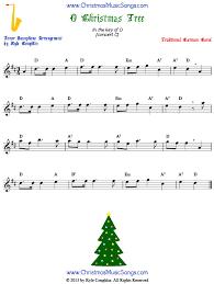 Tenor Sax Chart O Christmas Tree For Tenor Sax Free Sheet Music