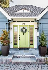 Image Sherwin Williams Pastel Green Front Door Freshomecom 12 Fresh New Front Door Colors To Welcome You Home Freshome