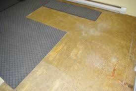 installing vinyl roll flooring in a moderately complex room