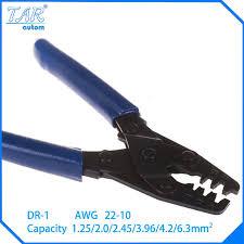 popular molex crimping tool buy cheap molex crimping tool lots automotive terminal crimp wiring harness terminals crimp plier dr 1 for molex 10 22