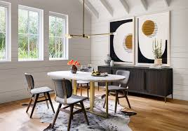 oval dining room. Devan Oval Dining Table In White Marble Room