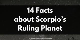 Facts About Scorpios Ruling Planet Pluto Vs Mars
