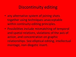 Editing Techniques Ppt Download