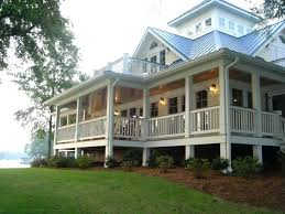 wrap around porch small country house plans plan rear home