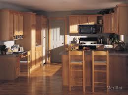amazing merillat classic seneca ridge in oak natural with kitchen cabinets maple ridge