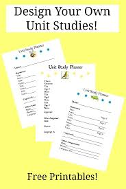 Design Your Own Homeschool Free Design Your Own Unit Studies Homeschooling Study