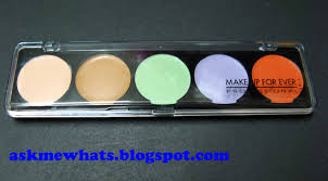 make up forever camouflage cream palette no 5 review