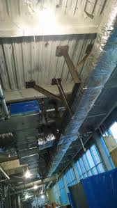 folding parion support system structural steel