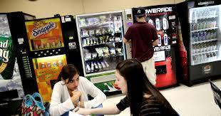 Vending Machines In Schools Debate Extraordinary Michelle Obama Wants To Cut Junk Food Sodas From Schools MSNBC