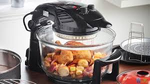 Cách sử dụng lò nướng thủy tinh nấu mọi món ăn thơm ngon như đầu bếp