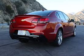 2015 Chevrolet SS: The Only American V8 Sedan With Manual Gearbox ...