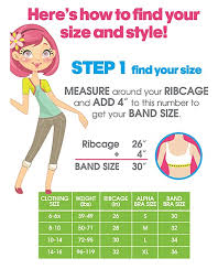 Maidenform Size Chart Maidenform Girls Molded Soft Cup Bra Rh4667 7