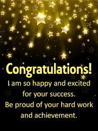 Shooting Stars Congratulations Card   Birthday & Greeting Cards by Davia
