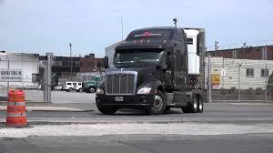 stevens transport truck 12545 a peterbilt spotted