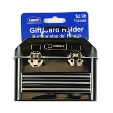 lowes gift card holder photo 1