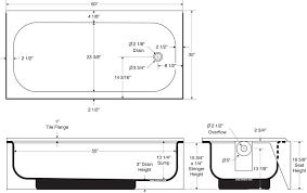 stylish standard bathtub size syniron 2 afr bootz industries