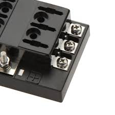 block magnet picture more detailed picture about hot 6 way hot 6 way circuit car fuse box holder 32v dc waterproof blade fuse holder block