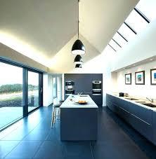 kitchen lighting for vaulted ceilings installing pendant lights