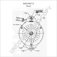 A001090772 front dim drawing