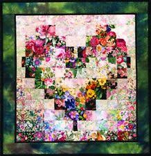Quilting Kits | eBay & Whims Watercolor Quilt Kits Heart In Bloom Quilting Supplies Adamdwight.com