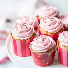 Strawberry Cupcakes With Strawberry Buttercream Nothing Artificial