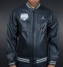 max b4472 44fd9 nike mj air leather jacket