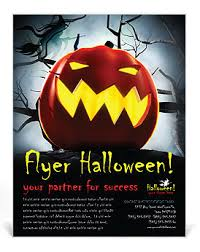 Halloween Flyers Templates Halloween Flyer Template